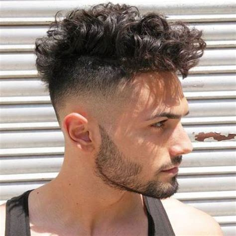 fades for curly hair mens undercut fade curly hair