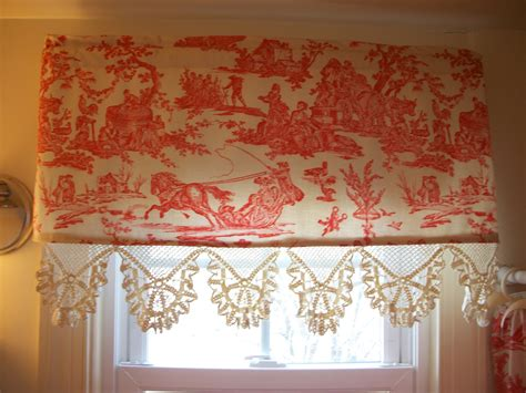 red toile curtains retrospect red toile shower curtain and matching valance