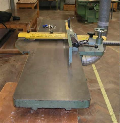 hse woodworking introduction to woodcutting machinery surface planer