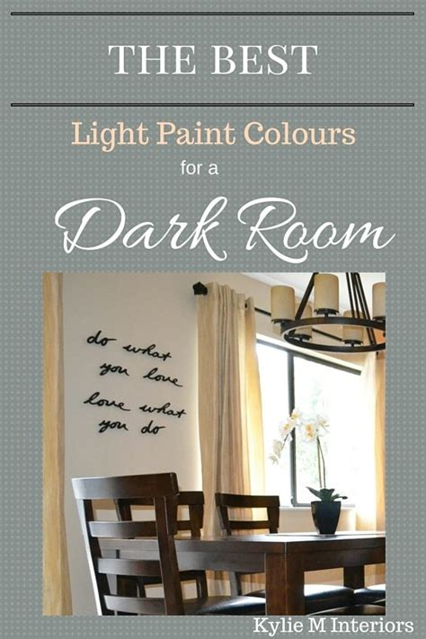 Paint Colors To Brighten A Dark Living Room