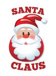 Santa logos throughout the years santa claus
