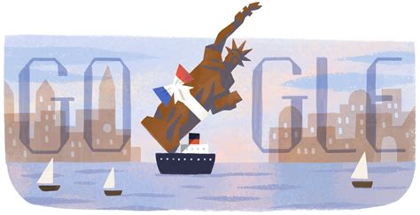 doodle 4 united states 2015 130th anniversary of delivering the statue of