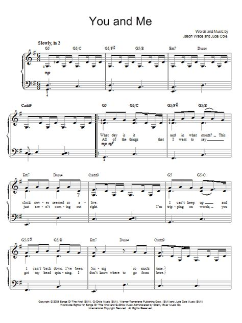 strumming pattern for you and me lifehouse you and me sheet music by lifehouse easy piano 67687