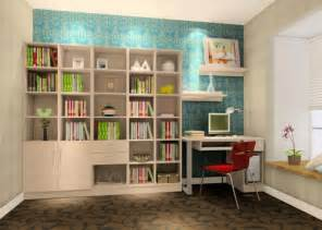 study room ideas study room ideas with blue wallpaper 3d house