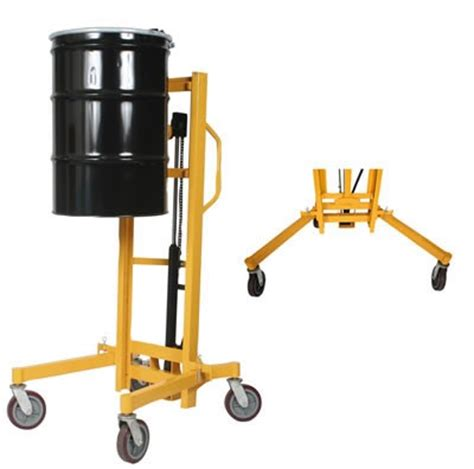 Drum Lift wesco high lift hydraulic drum lifter and handler for