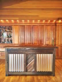 Restaurant Bar Tops For Sale Custom Made Reclaimed Wood Rustic Bar By Urban Mining