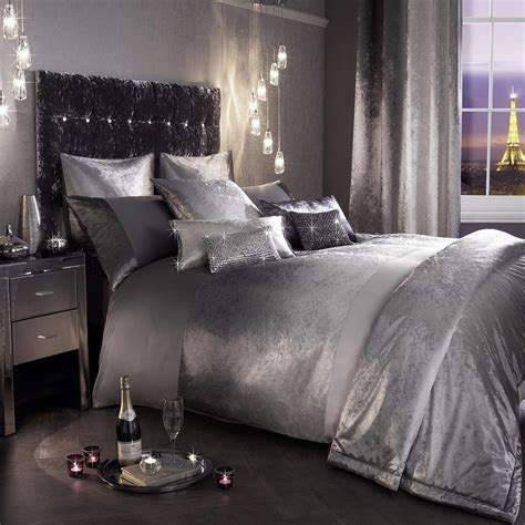 silver curtains and bedding kylie minogue ombre slate grey silver bedding duvet