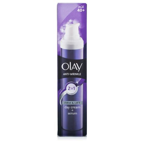 Serum Anti Aging Olay olay anti wrinkle 2 in 1 day serum chemist direct