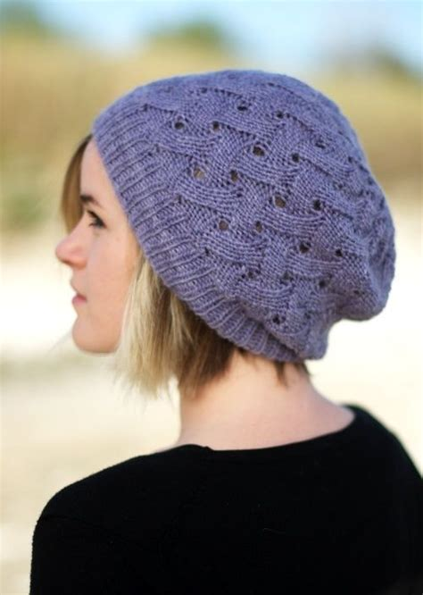slouchy knit hat pattern 1000 images about knitting hat free patterns on