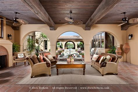 hacienda home style interior design patios home