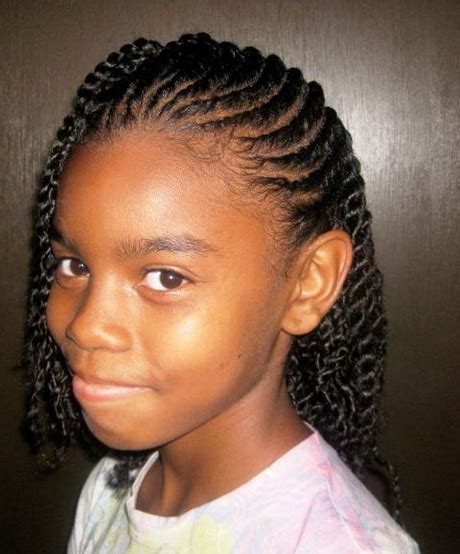 Braided Hairstyles For Ages 10 12 by Black Hairstyles