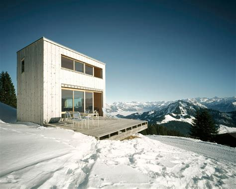 winter house winter house in the alps by afgh architects home reviews