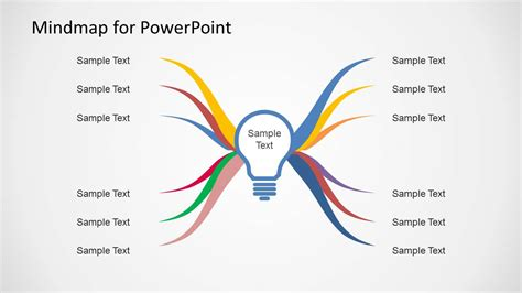 mind map powerpoint template mind map diagram template for powerpoint slidemodel