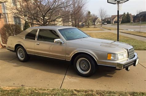 buy car manuals 1992 lincoln continental mark vii electronic valve timing few this nice left 43k mile 1988 lincoln mark vii lsc bring a trailer