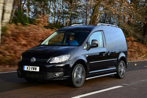 black volkswagen new vw caddy black edition van review pictures auto