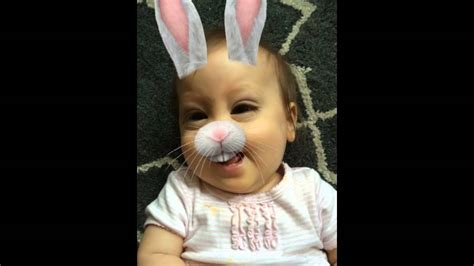 lucy snapchat evil rabbit filter youtube