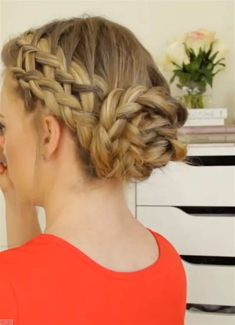 red braids in a bun 98 elegant and beautiful french braid ideas
