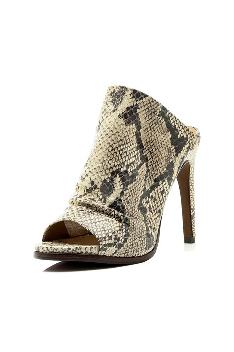 snakeskin high heel boots a7eije beige snakeskin shoes from new york by just b