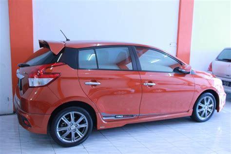 Toyota Yaris Trd At 2014 toyota yaris trd a t 2014 mobilbekas