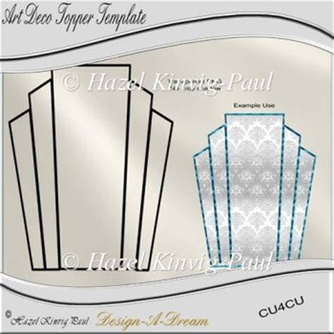 deco templates free larger image deco topper template 163 1 50