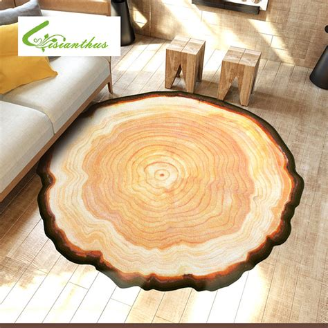teppich 2 x 3 antique wood tree annual ring 3d carpet for bedroom