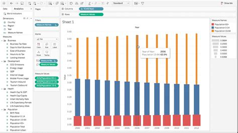 tableau r tutorial tableau bar chart tutorial tableau tip tuesday creating