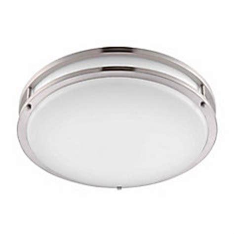 hton bay low profile led 16 inch flush mount ceiling