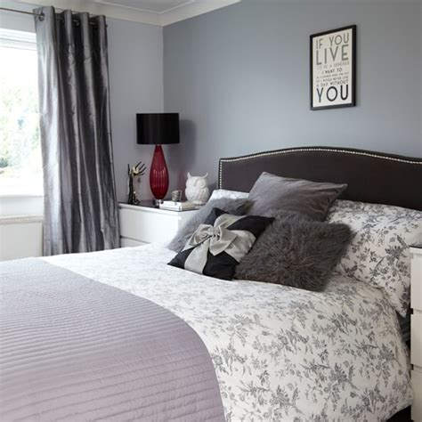 Grey And Black Bedroom Designs grey and black bedroom bedroom decorating housetohome co uk
