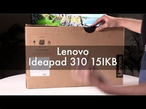 unboxing: lenovo ideapad 310 laptop with 7th gen intel