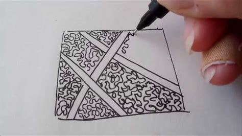 amaze zentangle pattern how to draw tanglepattern amaze youtube