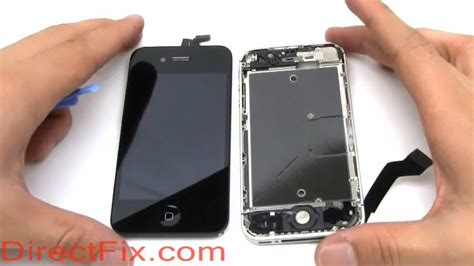 how to replace iphone 4s screen directfix