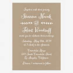 casual wedding invitation wording theruntime