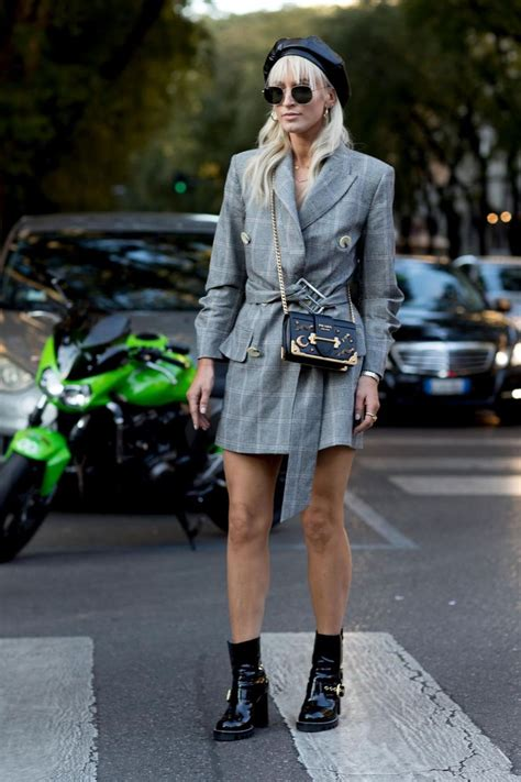 Mannish Chic At Fashion Week by Yes The Milan Fashion Week Style 2018 Was