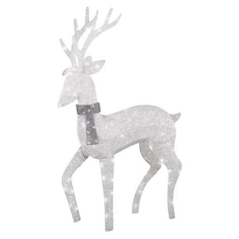 philips outdoor decorations philips 48 quot lighted glitter string buck outdoor d 233 cor