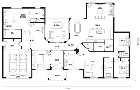 Floor Plans With Photos - floor plan friday innovative ranch style home