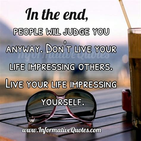 Beateight Only Goo Can Jugde You in the end will judge you anyway informative quotes