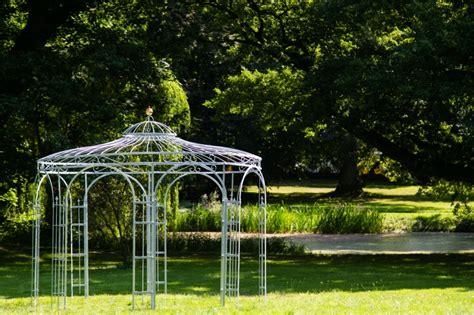 stabiler gartenpavillon verzinkt metall 216 350cm pavillon - Stabiler Gartenpavillon