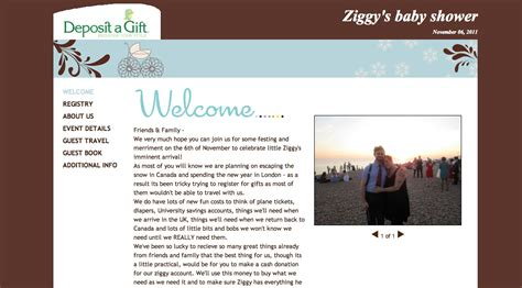 Baby Shower Website by Baby Website Baby Registry Ask For For Baby