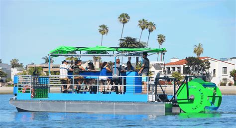 paddle boat for sale houston brewboat cle a water based version of a pedal pub to