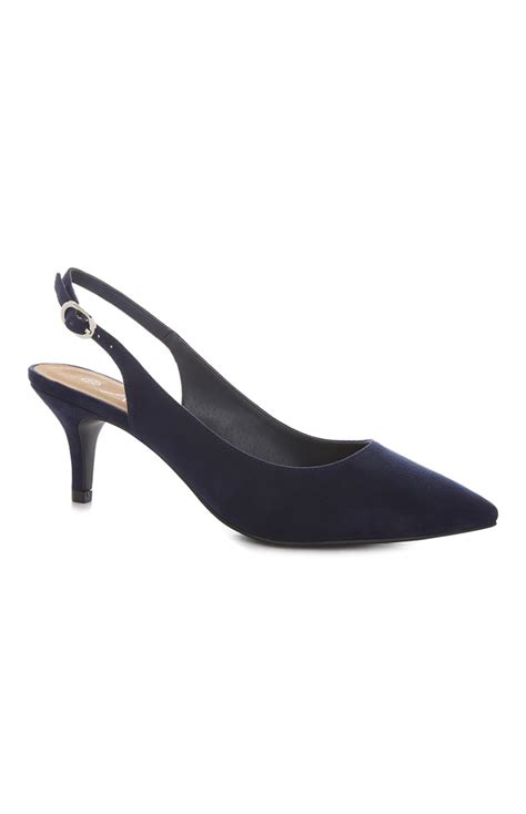 primark shoes for smarten up your with the navy sling back court shoe