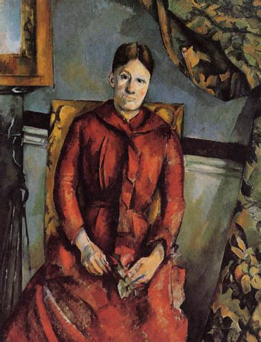 madame cezanne in a red armchair madame cezanne in a armchair 28 images cezanne and