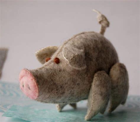 pattern for felt pig 119 best felted pig images on pinterest