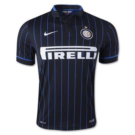 Jersey Intermilan Home 1718 s 2014 15 inter milan black blue home soccer jersey soccer kits home jersey