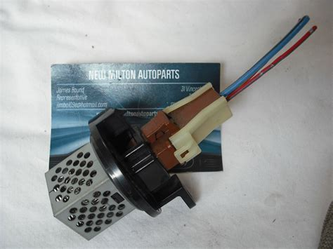 fan speed with resistor honda jazz heater fan blower speed resistor