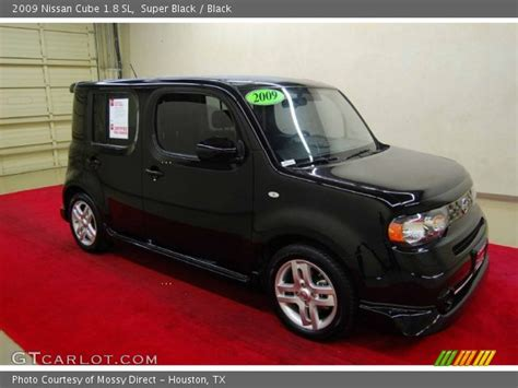 nissan cube back black 2009 nissan cube 1 8 sl black interior