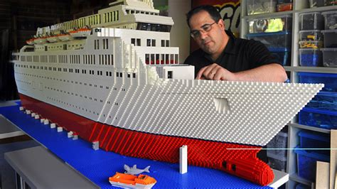 How To Make A Big Boat Out Of Paper - brickman inside the world of australia s only lego expert