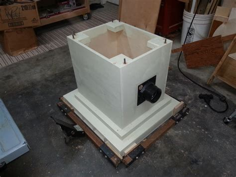 table saw dust collection ideas contractor s 10 quot table saw dc solution by timbertailor