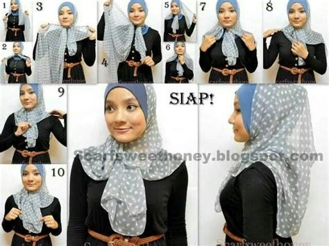 Kerudung Syari Trendy 6 225 best images about tutorial on tutorial modern turban style and