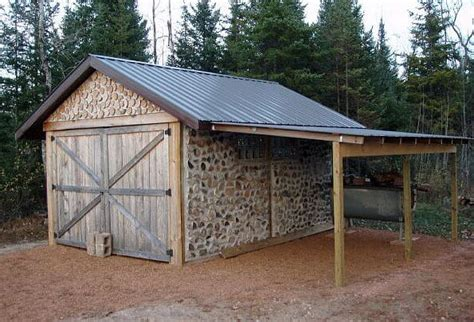Shed Shack by Cordwood Construction Nifty Homestead