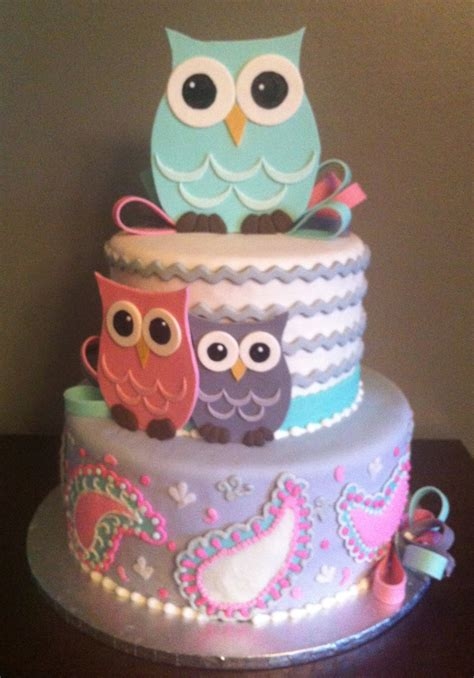 How To Make Owl Cupcakes For Baby Shower by Owl Baby Shower Cake Cake Decorating Community Cakes We Bake